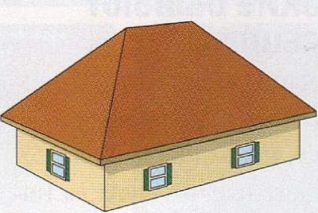 Вальмовий дах своїми руками креслення