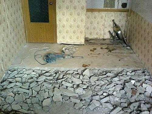 Зробити тепла підлога своїми руками