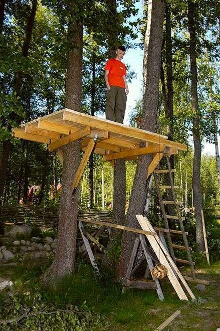 Будиночок на дереві своїми руками
