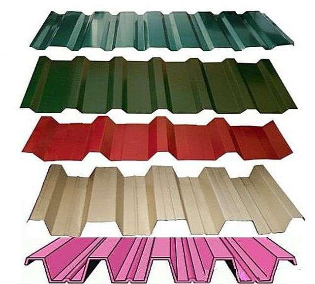 Будь використовувати профнастил для даху