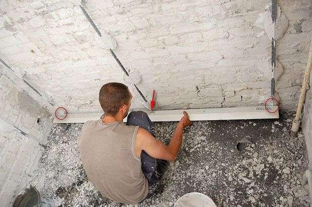 Як вирівняти стіни своїми руками